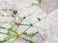 Montpellier, urban project for the renovation of the former EAI site.  - 2013