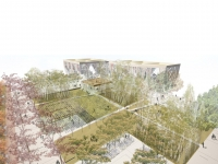 Ningbo, Public Space for the Gateway. - 2011